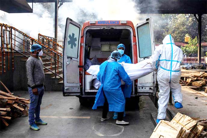 'Painful': Delhi sets new Covid-19 deaths record amid third wave