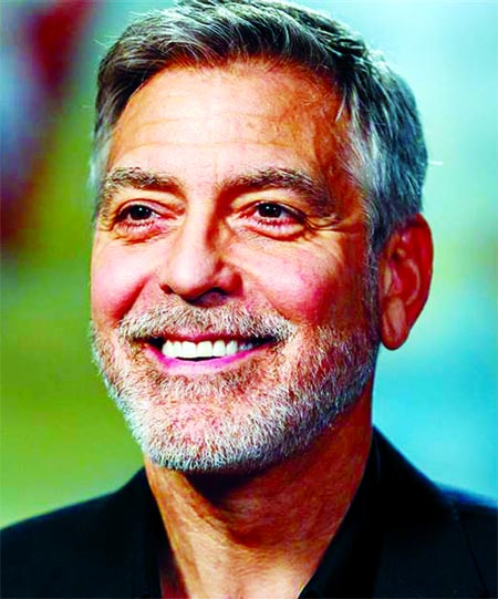 George Clooney gave $1m in cash to 14 of his closest friends