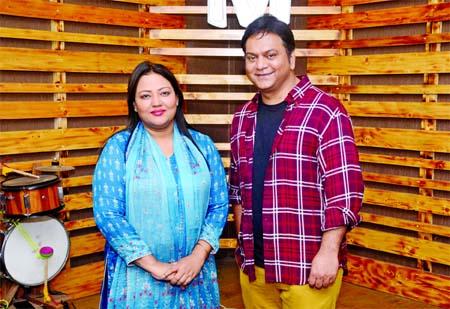 Momtaz lends voice for title song of Mir Sabbir's movie