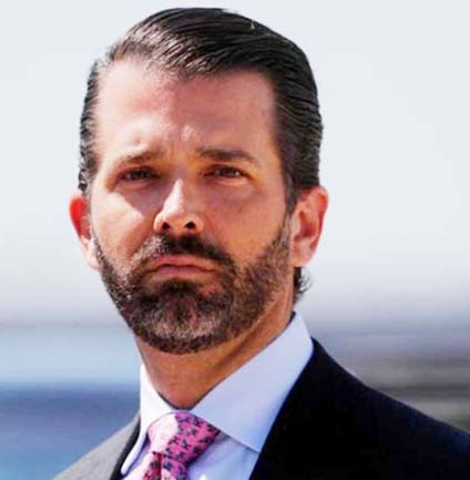 Donald Trump Jr tests corona  positive