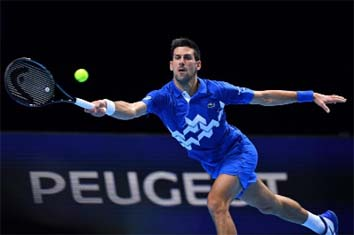 Djokovic reaches ATP Finals semis, Nadal showdown still on