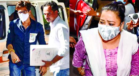 Comedian Bharti, husband arrested after cannabis found in raid