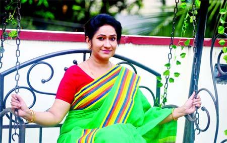 Outstanding actress Monira Mithu
