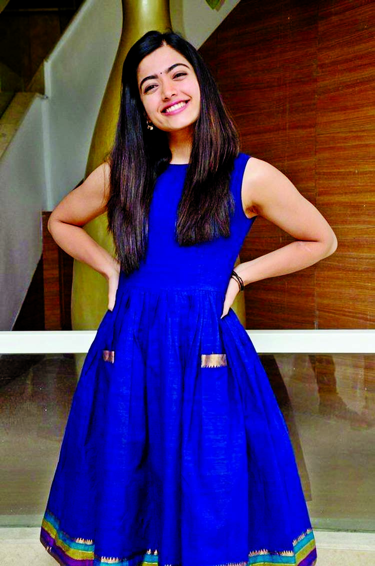 Rashmika Mandanna as the 'Nat'l  Crush of India'