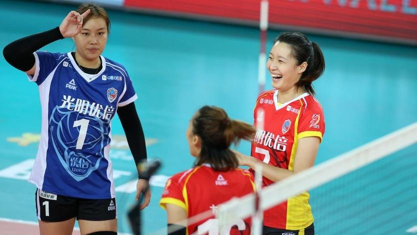 Shanghai beat Guangdong 3-1 in Chinese Women's Volleyball League
