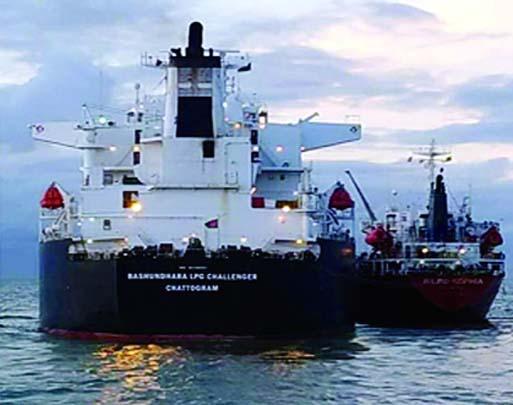 Bashundara LPG Challenger vessel