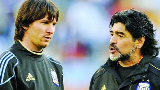'Diego is eternal', says Messi