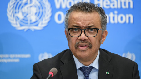 WHO chief calls for 'extreme caution' as new Covid-19 cases fall globally