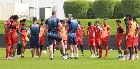 Bangladesh take on Qatar today