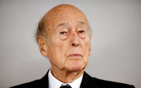 Former French president Giscard d'Estaing dies