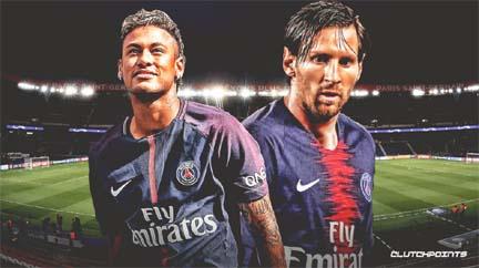 Neymar wants Messi at Paris St-Germain