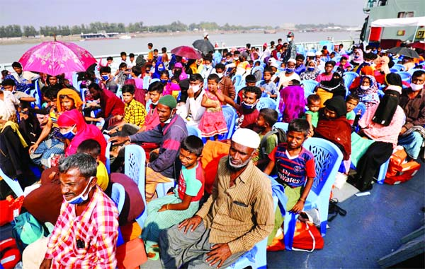1,600 Rohingyas relocated to Bhasan Char