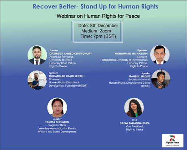 Webinar on rights crisis caused by Covid pandemic