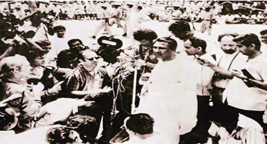 Speech of March 7, Liberation War & Bangabandhu Inseparable