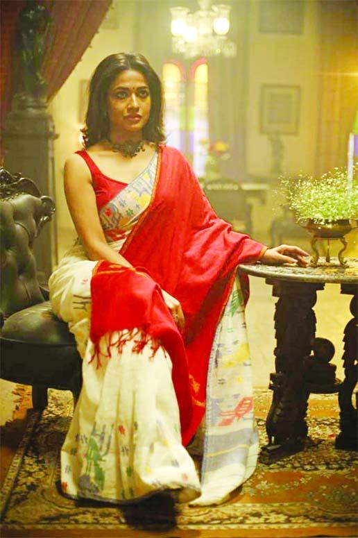 Badhon in web series Rabindranath Ekhane Kokhono Khete Aashen Ni
