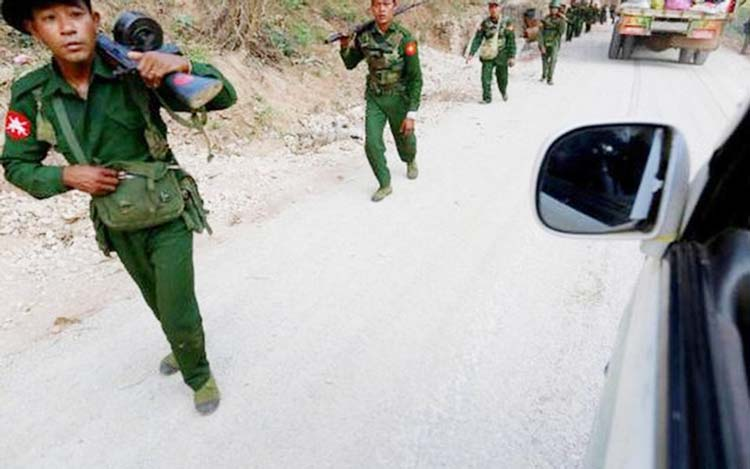 Myanmar insurgents say they released ruling party politicians
