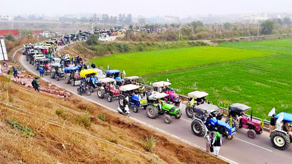 Farmers protest in India: Bharatiya Kisan Union (BKU) leader Rakesh Tikait threatened to go on tractor rally across India with lakhs tractors.