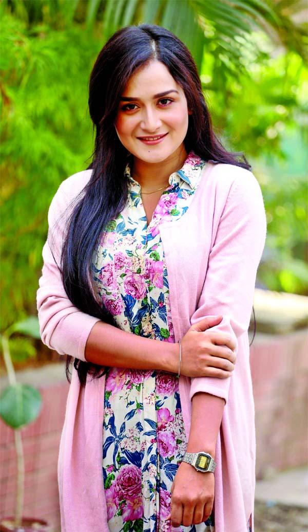 Actress Sallha Khanom Nadia