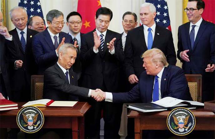 Trump administration takes final swipes at China and its companies