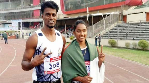 Ritu Akter sets new national record in National Athletics