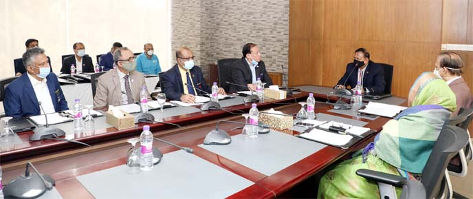 President of Bangladesh Olympic Association (BOA) and Chief of Army Staff General Aziz Ahmed presided over the meeting of the Executive Committee of BOA at Kurmitola Golf Club in Dhaka Cantonment on Saturday.