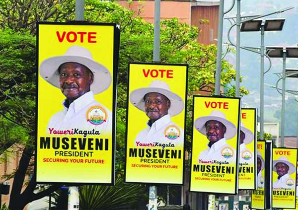 Museveni heads for election win, rival alleges fraud