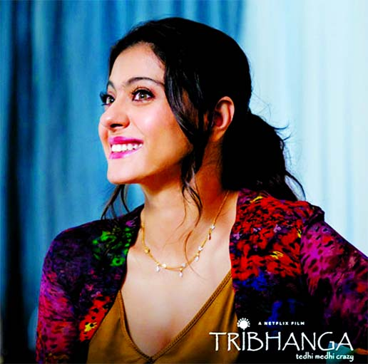 Kajol opens up on her opinionated role in Tribhanga
