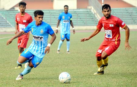 Ctg Abahani beat Arambagh, Mohammedan lose to Saif