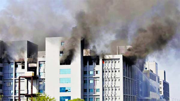 5 dead in fire at Serum Institute of India