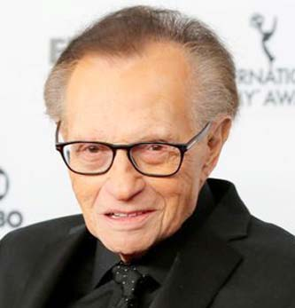U.S. television host Larry King dies