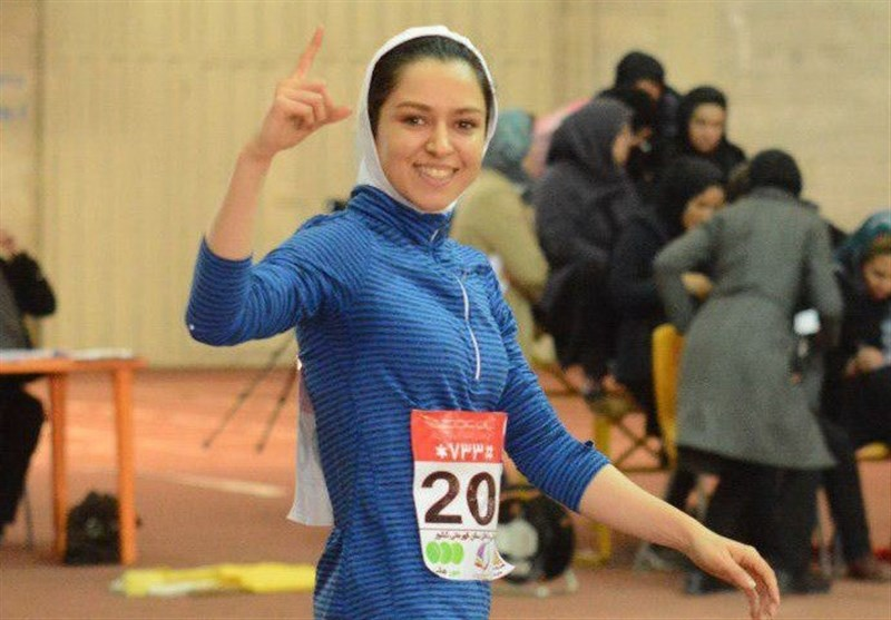 Iranian sprinter wins gold in Serbia Championships