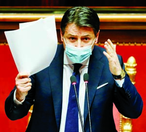 Italian prime minister resigns as political crisis deepens