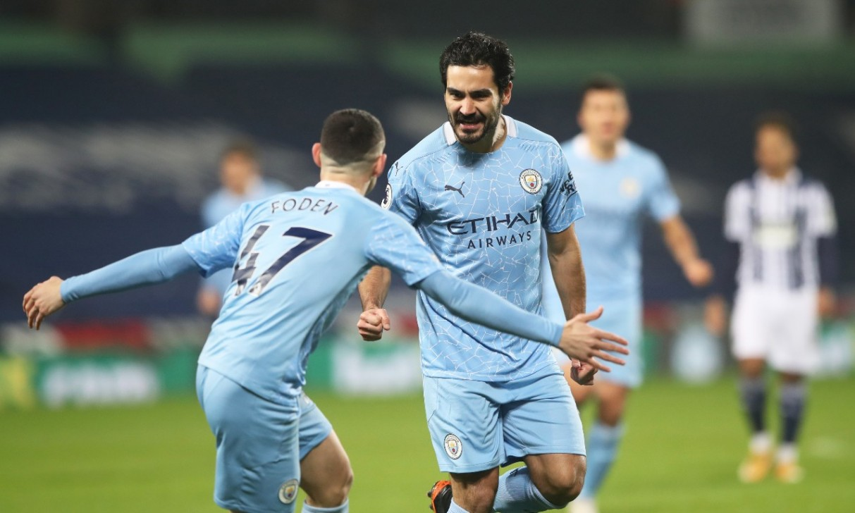 Man City crush West Brom to go top of Premier League