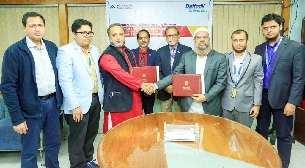 DIU signs MoU with Pragati Life Insurance Limited