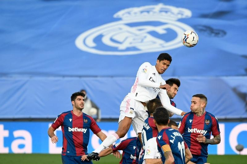 Real Madrid beaten by Levante