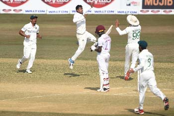 Windies bundle out for 259 in 1st innings