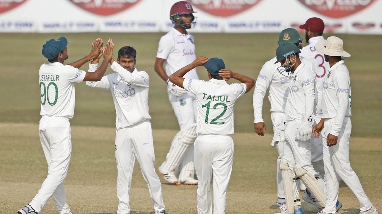 Bangladesh take upper hand