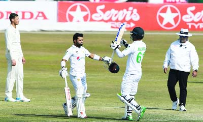 South Africa 37-1 against Pakistan after Rizwan's maiden hundred