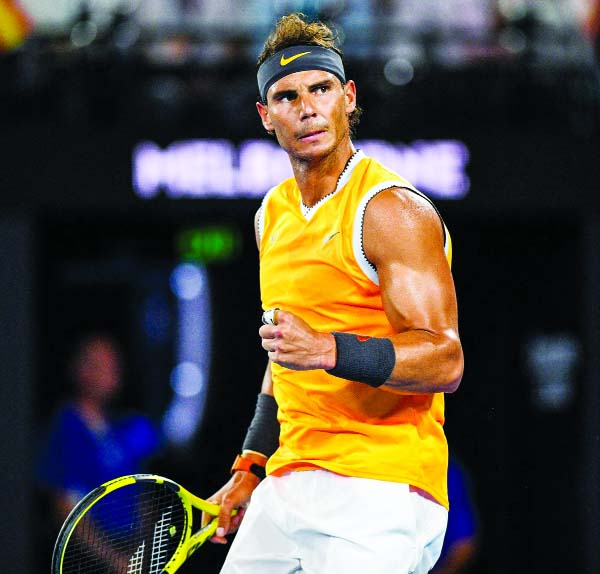 Nadal's Aussie Open in doubt with back injury