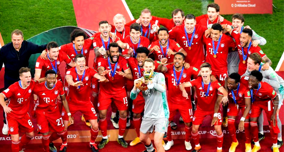 Bayern win Club World Cup to claim 'six pack' of titles