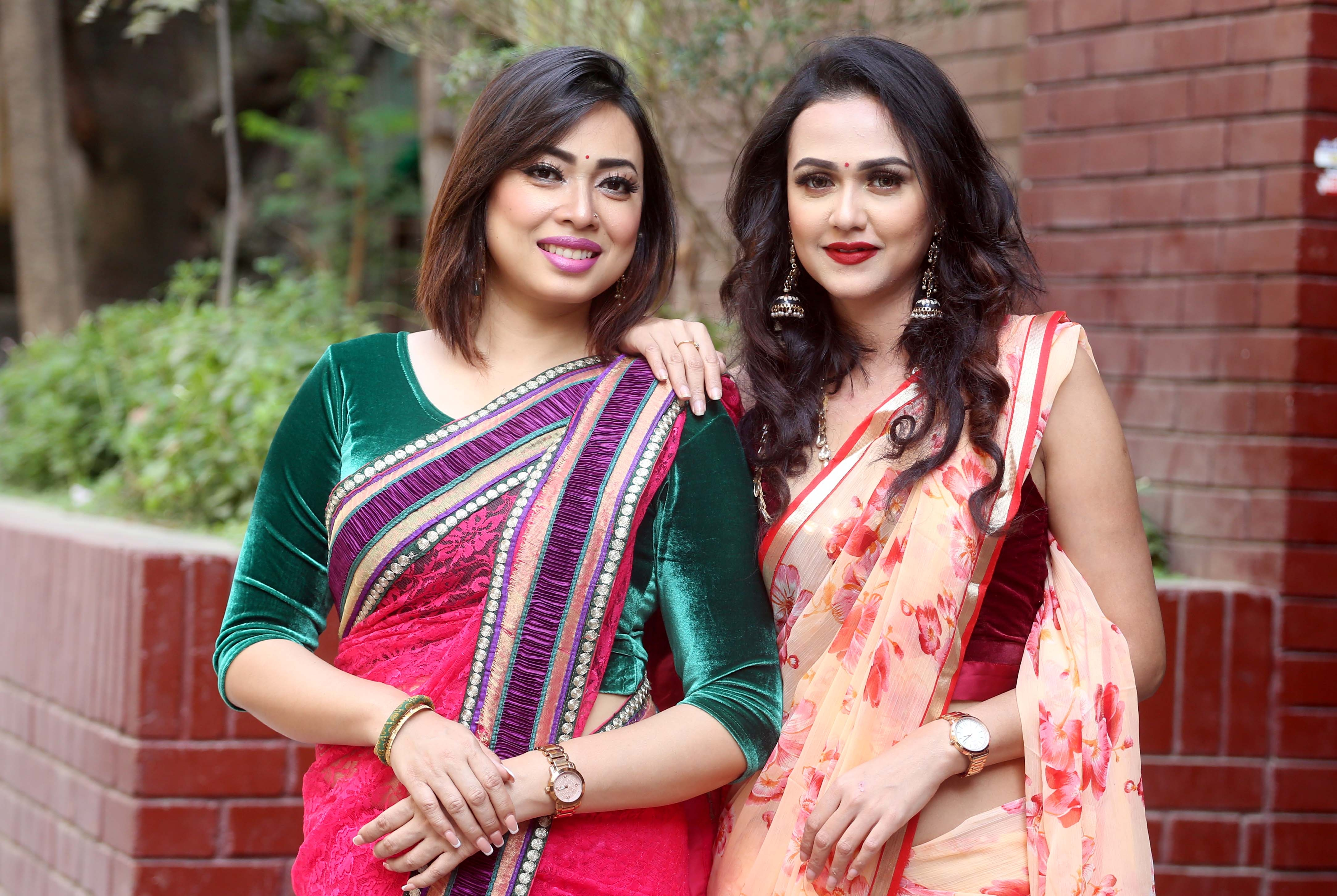 Shanu, Airin perform as judge in TV reality show