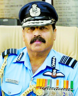 Indian Air Force Chief in city