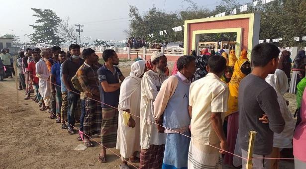 Voting underway in 5th phase municipality polls