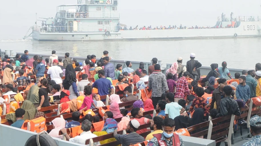 1,800 more Rohingyas moved to Bhasan Char