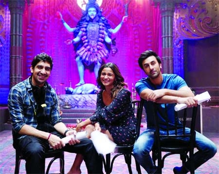 Alia Bhatt shares glimpse from sets of Brahmastra with Ranbir