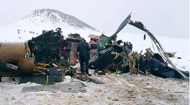 11 soldiers killed as military helicopter crashes in Turkey