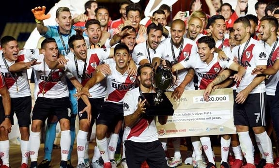 River Plate win Argentine Super Cup