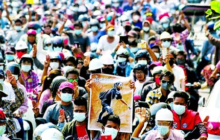 Myanmar brutally on protests may get worse
