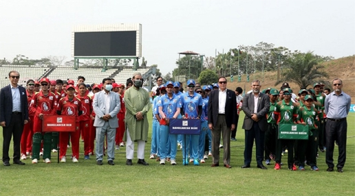 Bangladesh Blue make winning start