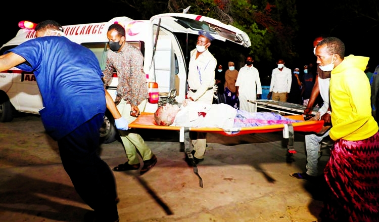 20 killed in Somalia suicide bomb